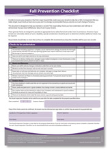 Recommended Home Safety ertificate PDF