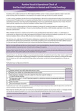 Electrical Safety Checklist PDF